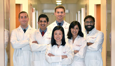 2015 Cardiology Fellows, among the large group who enthusiastically endorsed the nomination